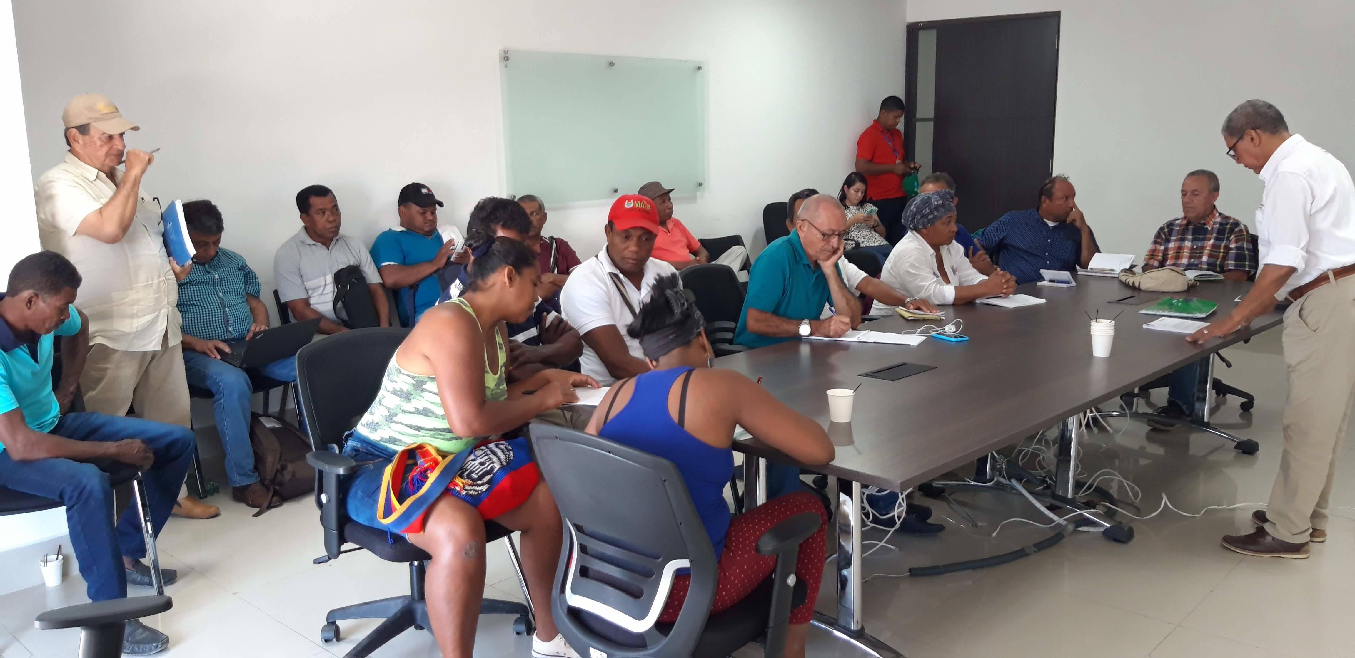 Taller de priorización de especies hortícolas con productores de Bolívar - Colombia