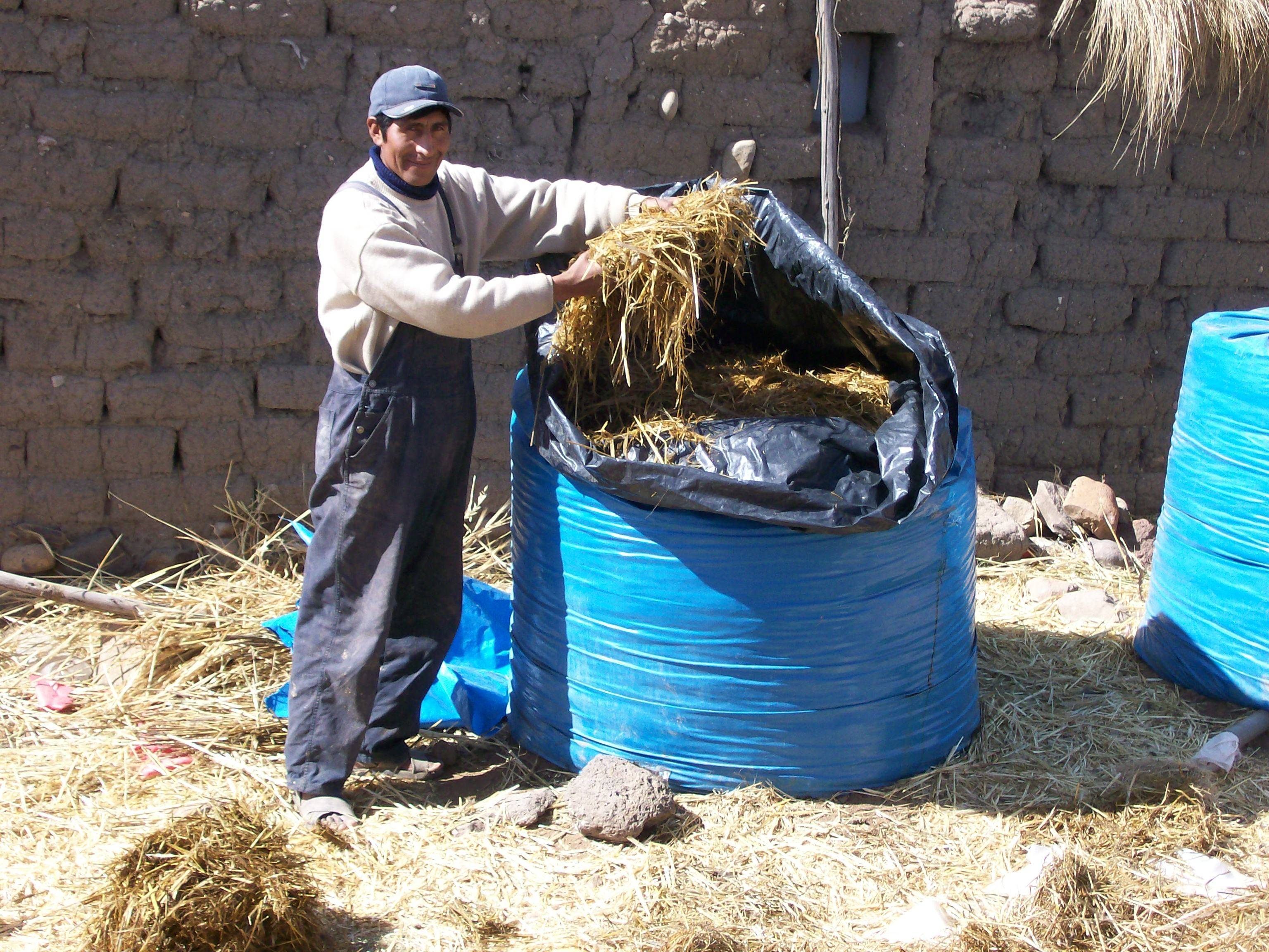 Technological alternative for conservation of forage as silage in an artisanal way