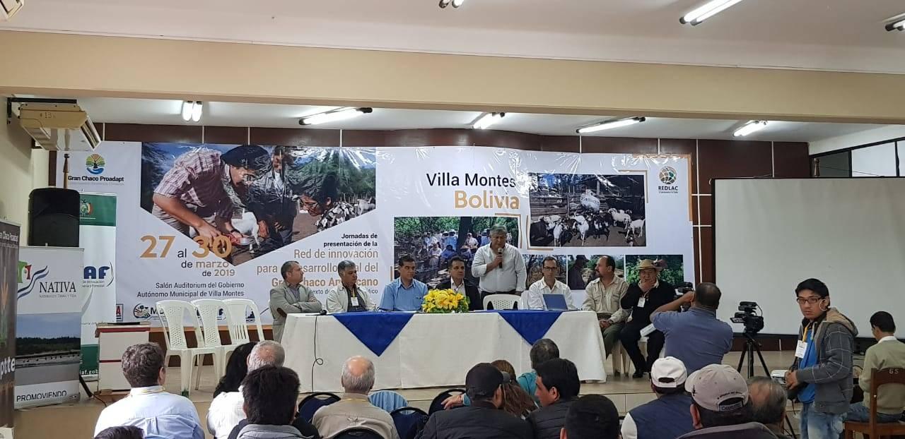 Lanzamiento Jornadas de Presentación de la Red en Villamontes (Bolivia) - 2019