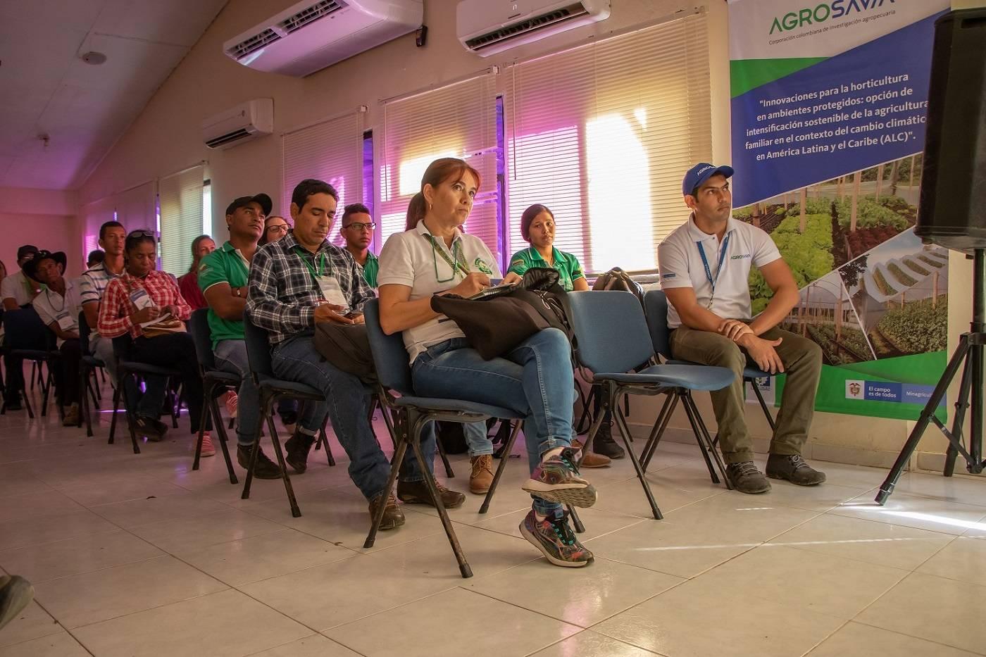 Presentación del proyecto a productores y entidades del sector Agropecuario en el Centro de Investigacion Caribia AGROSAVIA Colombia