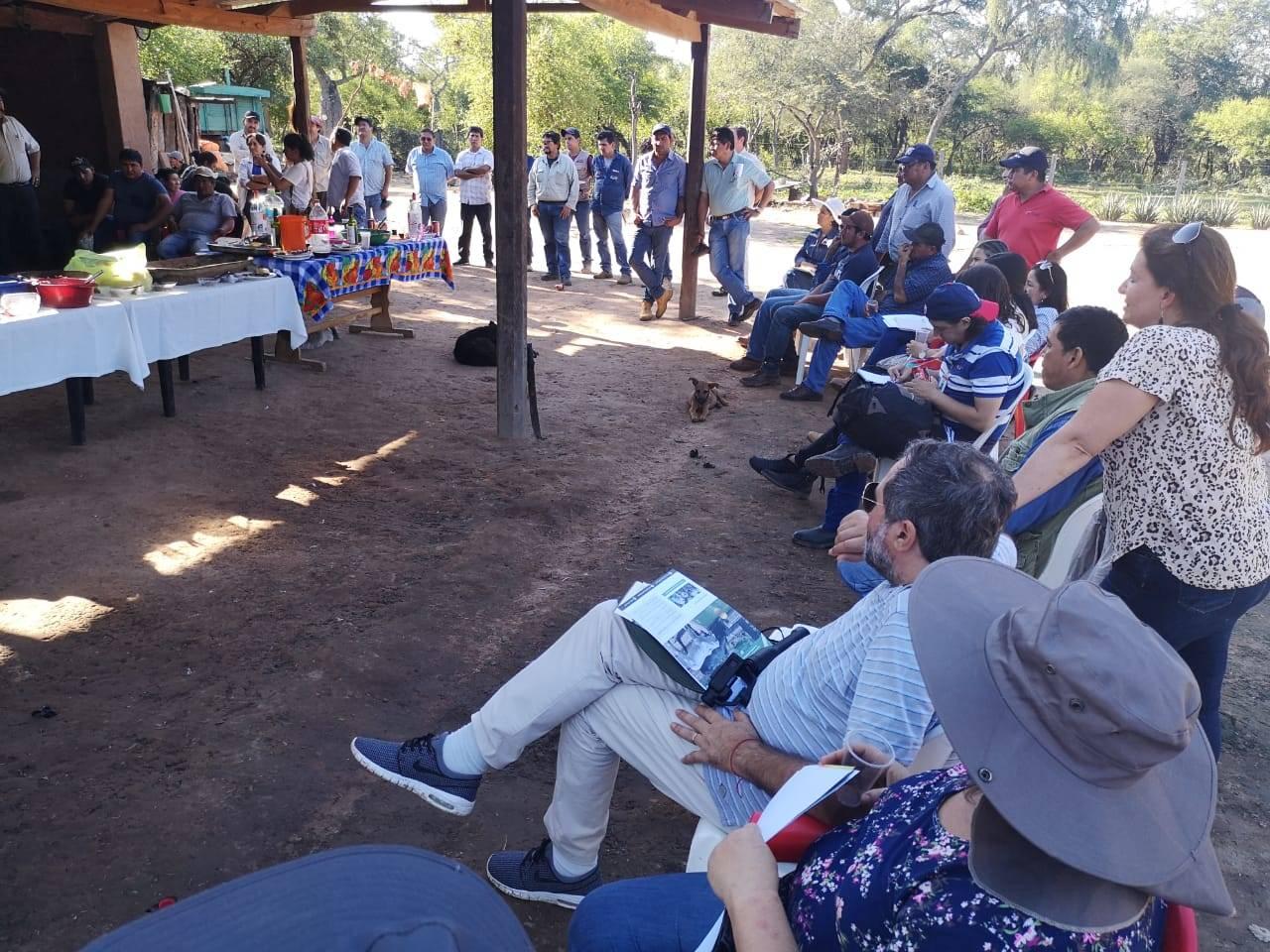 Reunión Marzo 2019 Villamontes, Bolivia, Sistema silvopastorial