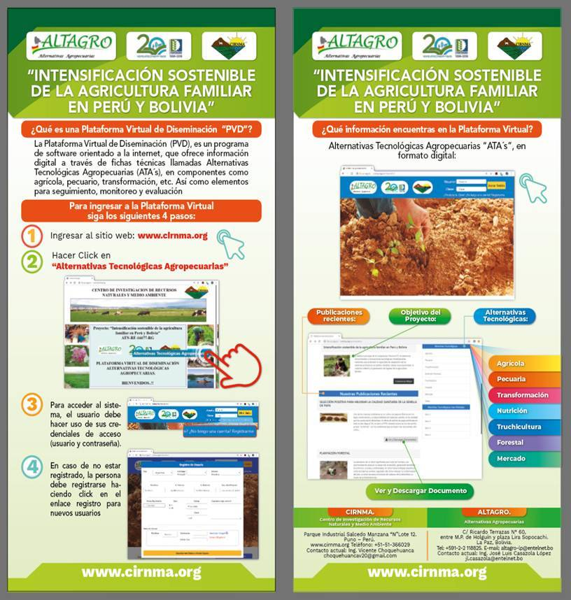 Intensificación sostenible de la agricultura familiar en Perú y Bolivia