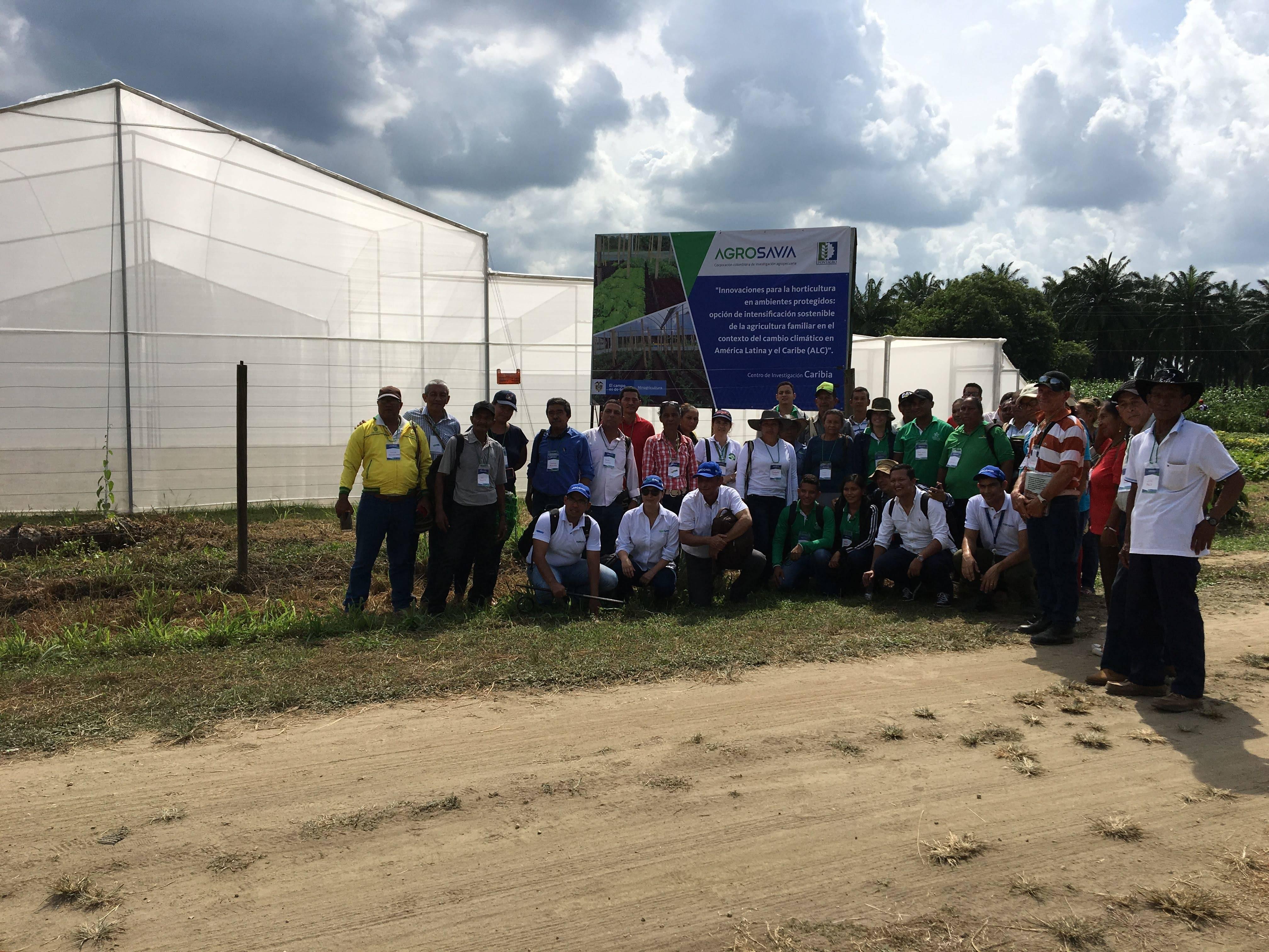 Presentacion del proyecto a Productores, asistentes técnicos y entidades del sector agrícola en Colombia