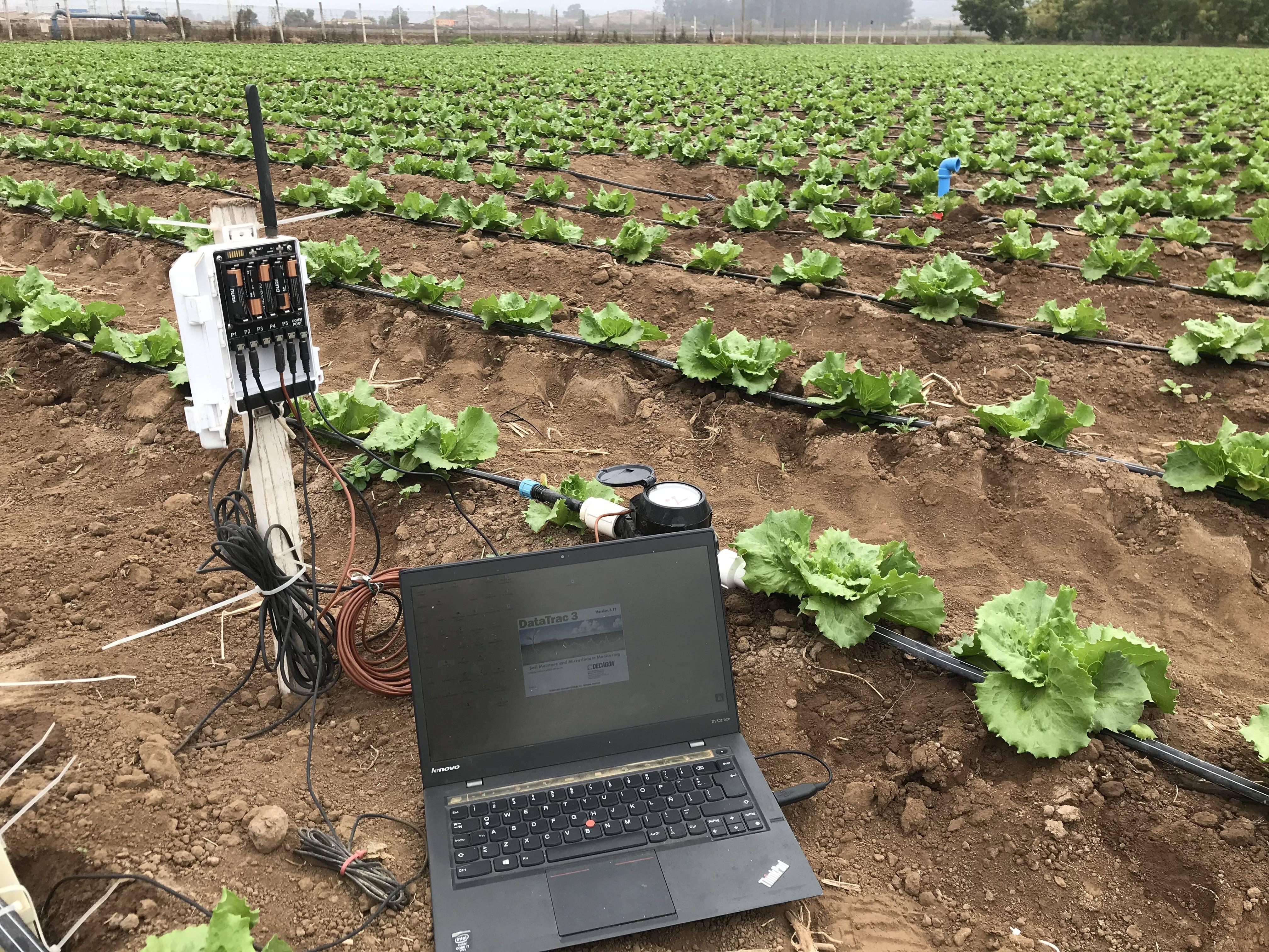 Uso de tecnologías en campo