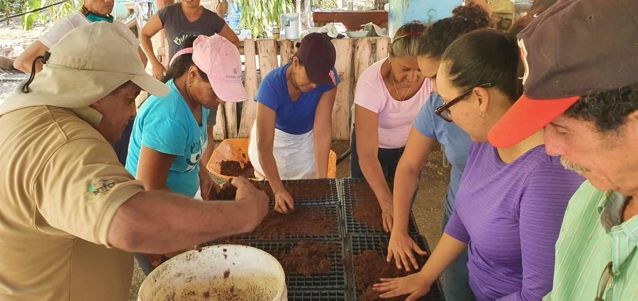 Fortaleciendo las capacidades de Asociación de Mujeres isla Venado Costa Rica- INTA