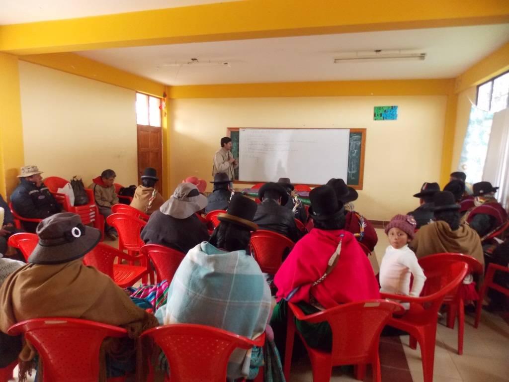 Identificación de actividades productivas agrícolas, ganaderas y de transformación de alimentos (Derivados lácteos), por padres de familia y la dirección del colegio en la Comunidad de Pillapi (Tiahuanacu, La Paz-Bolivia).