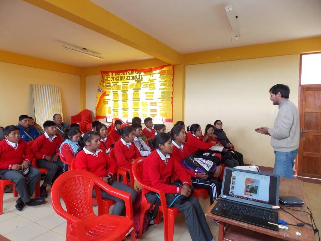 Taller de capacitación con estudiantes para socializar el acceso a la Plataforma Virtual de Diseminación (PVD), como usuarios. La recuperación de una Alternativa Tecnológica Agropecuaria (ATA) y la posibilidad de réplica en el campo