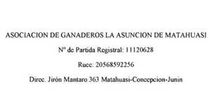Asociación de Ganaderos La Asunción de Matahuasi  (Asociación de Ganaderos La Asunción de Matahuasi ) - Perú